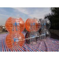 Wholesale Hot sales colorful PVC/ TPU inflatable adult bubble soccer from china suppliers