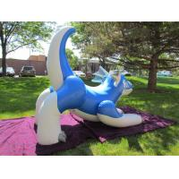 Quality Huge blue aaron inflatable dragon for sale