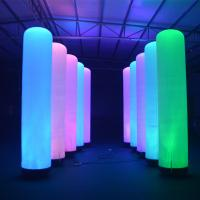 Wholesale Lighting Tube Pillar Custom Inflatable Advertising Inflatable Column 2m Height from china suppliers