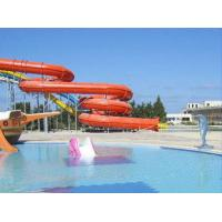 Wholesale Anti-UV Outdoor Swimming Pool Water Slides For Family Members , Spiral Water Slide from china suppliers
