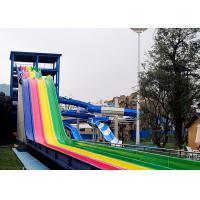 Wholesale Multi Color Water Park Slide Environmental Protection Roller Coaster Rafting Slide from china suppliers