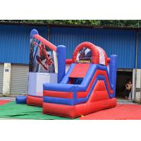 Quality 0.55mm Thickness Kids Inflatable Jumping Castle OEM For Outdoor Playground for sale