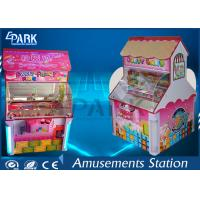LCD Screen Coin Operated Amusement Machines / Candy Crane Claw Machine 2 Player for sale
