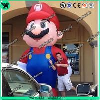 Wholesale Event Advertising 5m Giant Inflatable Mario Cartoon Inflatable Mario Mascot from china suppliers