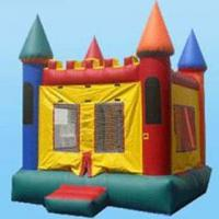 Buy cheap 0.55mm PVC Tarpaulin 3 layers Commercial Inflatable Bouncy Castle YHCS 031 For from wholesalers