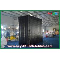 Wholesale Black Wall Inflatable Cube Tent Double Sewing Show Background from china suppliers