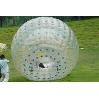 China 1.0mm PVC Inflatable Zorb Ball, zorb water ball ZORB16 with one entrance, plug on sale