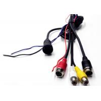 Wholesale 13 Pin To 4 Pin Aviation / RCA BNC Extension Cable For Car CCTV Video / Audio from china suppliers