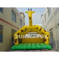 China Toddler Commercial Inflatable Bouncers Rentals With Double And Quadruple Stitched on sale