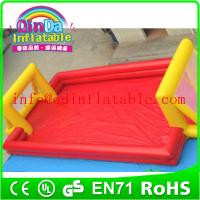 Wholesale Popular inflatable football field inflatable soccer arena inflatable football playground from china suppliers