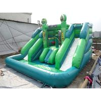 Quality CE Certificates Inflatable Water Slide PVC Tarpaulin Material For Outdoor Games for sale