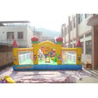 China EN71 Large PVC Tarpaulin Inflatable Bouncy Castle For Children Games on sale