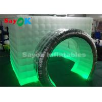 Quality Festival Event Inflatable Photo Booth / 11.5x9.2x8.2ft Inflatable Cube Tent for sale