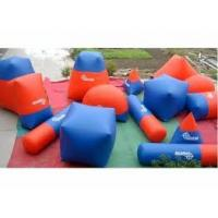 Wholesale High Density Family Inflatable Paintball Bunker for paintball Field Equipment from china suppliers