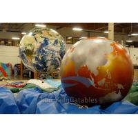 Wholesale Exhibition Inflatable World Globe Ball 2 M Digital Printing With Globe Map from china suppliers