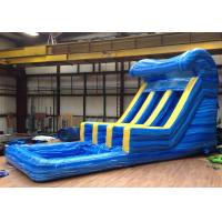 Wholesale Big Blue Water Slide  28'L x 14'W x 16' H Double Lanes from china suppliers