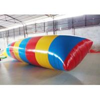 China Lake Inflatable Water Blob Pvc Tarpaulin Inflatable Water Catapult Blob on sale