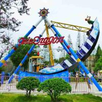 Wholesale 24 Riders Pirate Ship Amusement Park Ride Steel Material Swing Angle 110° from china suppliers