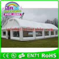 China QinDa inflatable tent, air tent, inflatable camping tent for sale on sale
