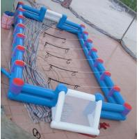 Wholesale Safe Giant Soccer Field Inflatable Football Playground Indoor / Inflatable Soccer Field from china suppliers