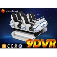 Wholesale Electric 220V System 9D VR Chair Family 6 Seats Suitable for Kids and Adults from china suppliers