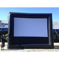Buy cheap Suitable anywhere Inflatable Movie Wide Screen For bussiness from wholesalers