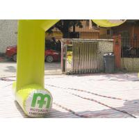 Quality Yellow Color Custom Inflatable Arch Rental Flame Retardant For Sport for sale