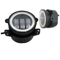 Wholesale 4 Inch Day Running Jeep Car LED Fog Lights 6500K DOT SAE Approved from china suppliers