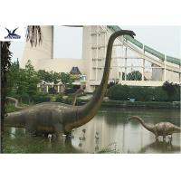 China Dream Indoor Amusement Park Dinosaur Garden Model By Colorful Led Lights on sale