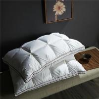 Wholesale Bread Goose Down Health Pillow And Soft Fluffy For Star Hotel Size 48 * 74cm from china suppliers