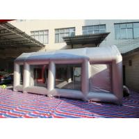 Wholesale Automobile Oxford Cloth Silver Inflatable Spray Booth With Removable Flooring from china suppliers