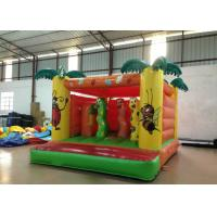 Wholesale Indoor Playground Kids Inflatable Bounce House 4 X 3.5m 0.55mm Pvc Tarpaulin Nontoxic from china suppliers