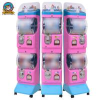 Wholesale ABS Commercial Gumball Machine , Sweet Vending Machine 300*400*1400mm from china suppliers