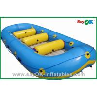 Wholesale 3 Person Hypalon Inflatable Boat Children Hand Power Water Toy Boat from china suppliers