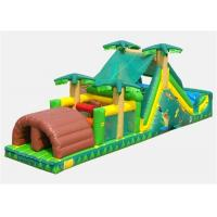 Wholesale Commercial Inflatable Obstacle Course , Cheer Amusement Bouncer Obstacle Course from china suppliers