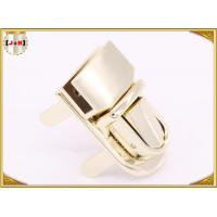 Quality Magnetic Delicate Zinc Alloy Metal Clasp Lock For Handbags Outer Size 40.7x21 for sale