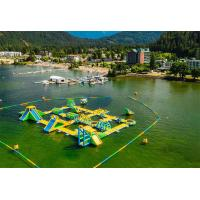 Quality Giant Inflatable Water Park Games / Harrison Exciting Aqua Park Equipment For for sale