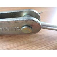 Die Casting Steel Wire Rope Socket 6 - 8 Mm Size For Elevator Fittings