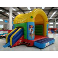 Quality Colorful Inflatable Toy Inflatable Mini Combo Jumper With Inflatabe  Slide for sale