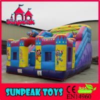 China SL-1990 Commercial Bounce House Inflatable Super Slide on sale