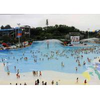 Wholesale Attractive Water Park Wave Pool , Family Entertainment Waves Swimming Pool Machine from china suppliers