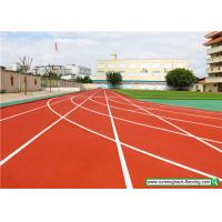 Buy cheap SSGsportsurface Full PU Mixed Recycled Rubber Running Track Playground Flooring from wholesalers