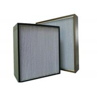 Wholesale Commercial UV Large Hepa Air Filters For HVAC System , High Efficiency from china suppliers