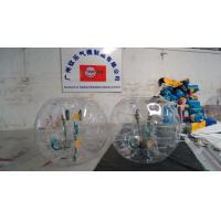 Wholesale Transparent Logo Inflatable Bumper Balls , Body Zorb Ball For Outdoor from china suppliers