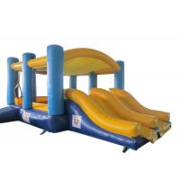 Wholesale Home Backyard Use Fun Bounce House , Double Lane Slides from china suppliers
