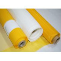 Wholesale High Durability Polyester Screen Mesh Fabric , 305 Mesh Count Silk Screen Fabric from china suppliers