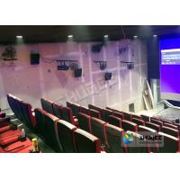 Immersive 4D Cinema Equipment With Electric System And Customized Seats Number
