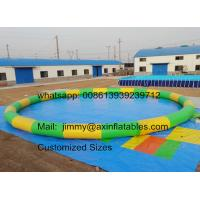 Buy cheap Factory Price Customized 0.9MM PVC Tarpaulin Commercial Water Games Inflatable from wholesalers