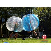 Wholesale Commercial Inflatable Bubble Ball Soccer 1.2m Dia / 1.5m Dia / 1.8m Dia from china suppliers