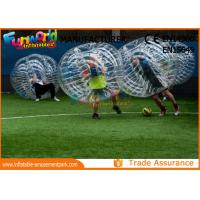 Wholesale Clear TPU Inflatable Human Knocker Ball , Inflatable Ball Suit from china suppliers